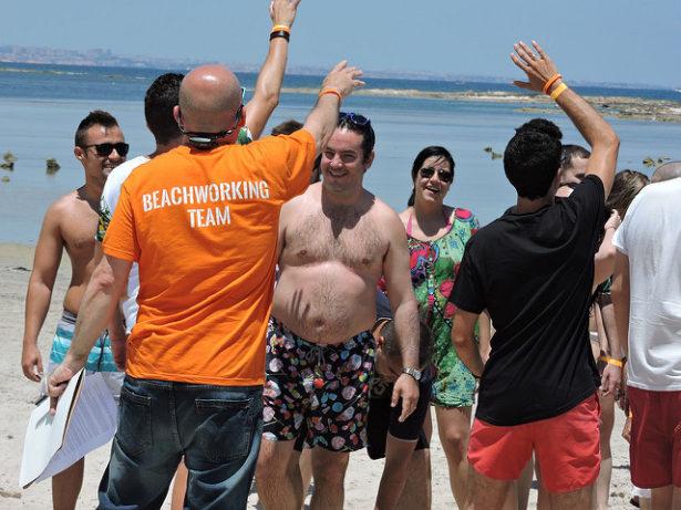 Coordinadores beachworking
